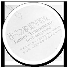 Laser Heat Transfer Paper for Light Fabrics